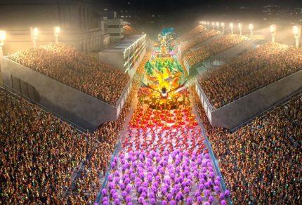 Rio de janeiro carnival brazil
